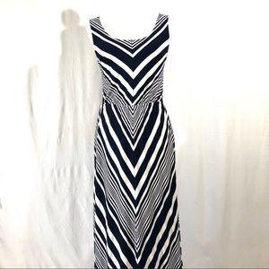 Market & Spruce Dafne Knit Chevron Maxi Dress